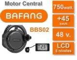 Kit Motor Central Bafang BBS02