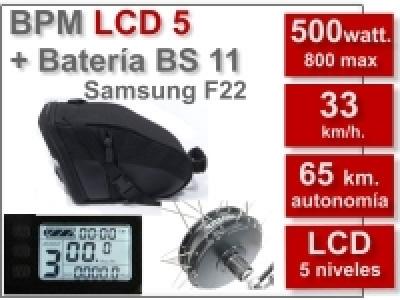Kit BPM LCD 5 batería BS 11 Ah. 36 v.