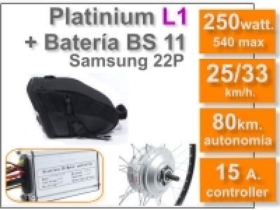 Kit Platinium L1 + batería BS de 11 Ah 36v.