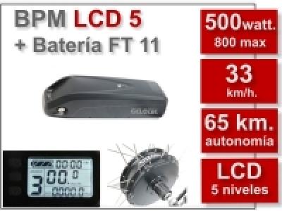 KIT BPM-LCD5 + Batería FT 11 Ah.