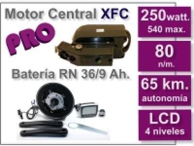 Kit Motor XFC + batería RN de 9 Ah