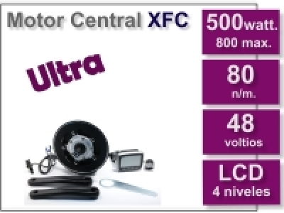Kit Motor Central XFC ULTRA 48 V. sin batería