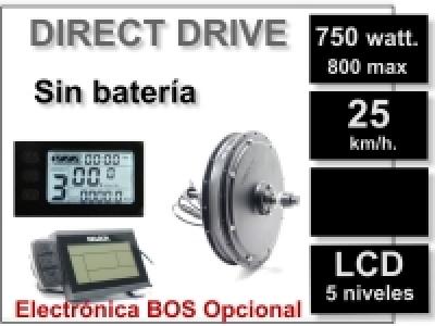 Kit Direct Drive delantero sin batería