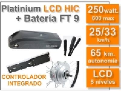 Kit Platinium LCD 5-HIC.+ batería FT de 9 Ah 36v