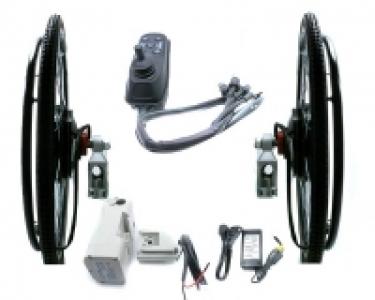 Kit Allegro 24v 180 watt. para silla de ruedas con batería 24v 11 Ah