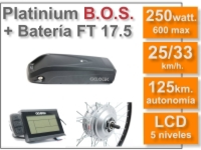 KIT SMART LCD5 BOS FT 36V 17.5AH
