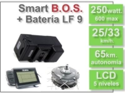 KIT Smart LCD5 B.O.S. con batería LF 36v. 9Ah.