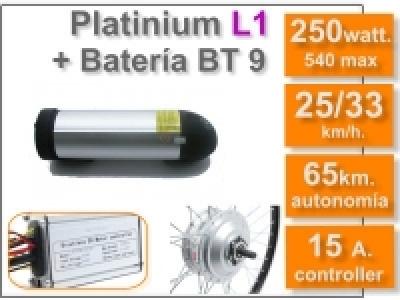 Kit Platinium L1 + batería BT de 9 Ah 36v.