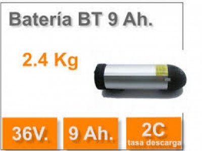 Batería BT 9 Ah. 36v.