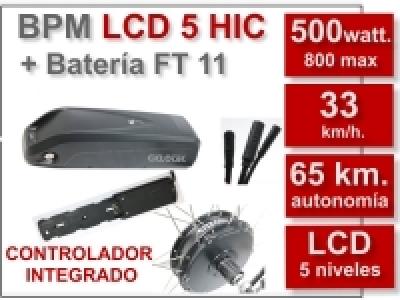 Kit BPM LCD 5 HIC FT 36V 11Ah.