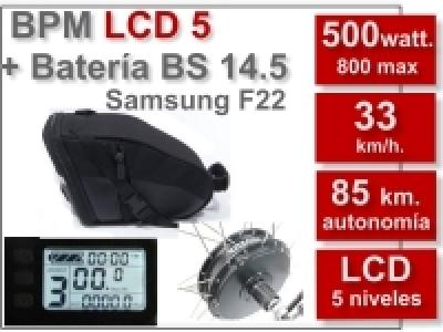 Kit BPM LCD5 BS 36V. 14.5Ah