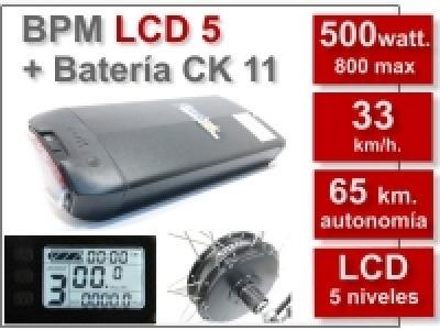 Kit BPM LCD5 CK de 36V. y 11Ah.