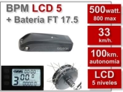 KIT BPM-LCD5 + Batería FT 17.5 Ah.