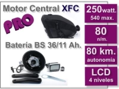 Kit Motor XFC PRO 36 V. con batería BS 11 Ah.
