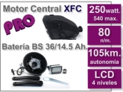 Kit Motor XFC PRO 36 V. con batería BS 14.5 Ah.