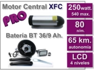 Kit Motor XFC PRO + batería BT de 9 Ah