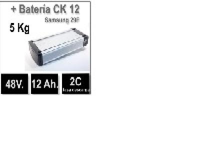 Set batería CK 48V. 12Ah.