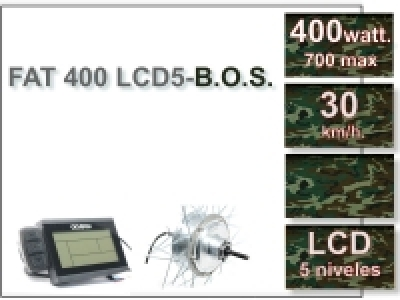 KIT FAT 400 FLCD5 B.O.S. Sin Batería