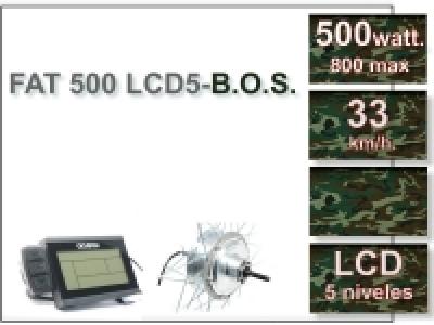 KIT FAT 500 FLCD5 B.O.S. Sin Batería