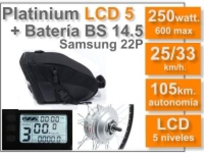KIT Platinium LCD5 + Batería BS 36v. 14.5 Ah.