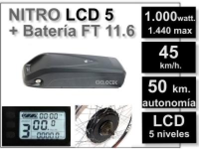 Kit Nitro con batería FT de 11.6Ah.
