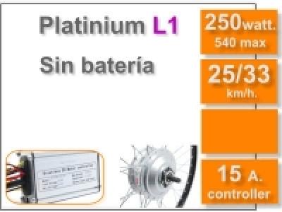 Kit Platinium L1 sin batería (Batería no incluida)