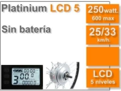 Kit Platinium LCD 5 sin batería (batería no incluída)