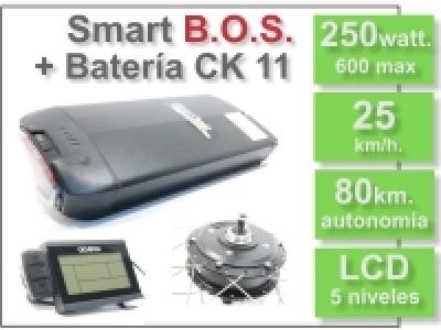 KIT Smart LCD5 B.O.S. con batería CK 36v. 11Ah.